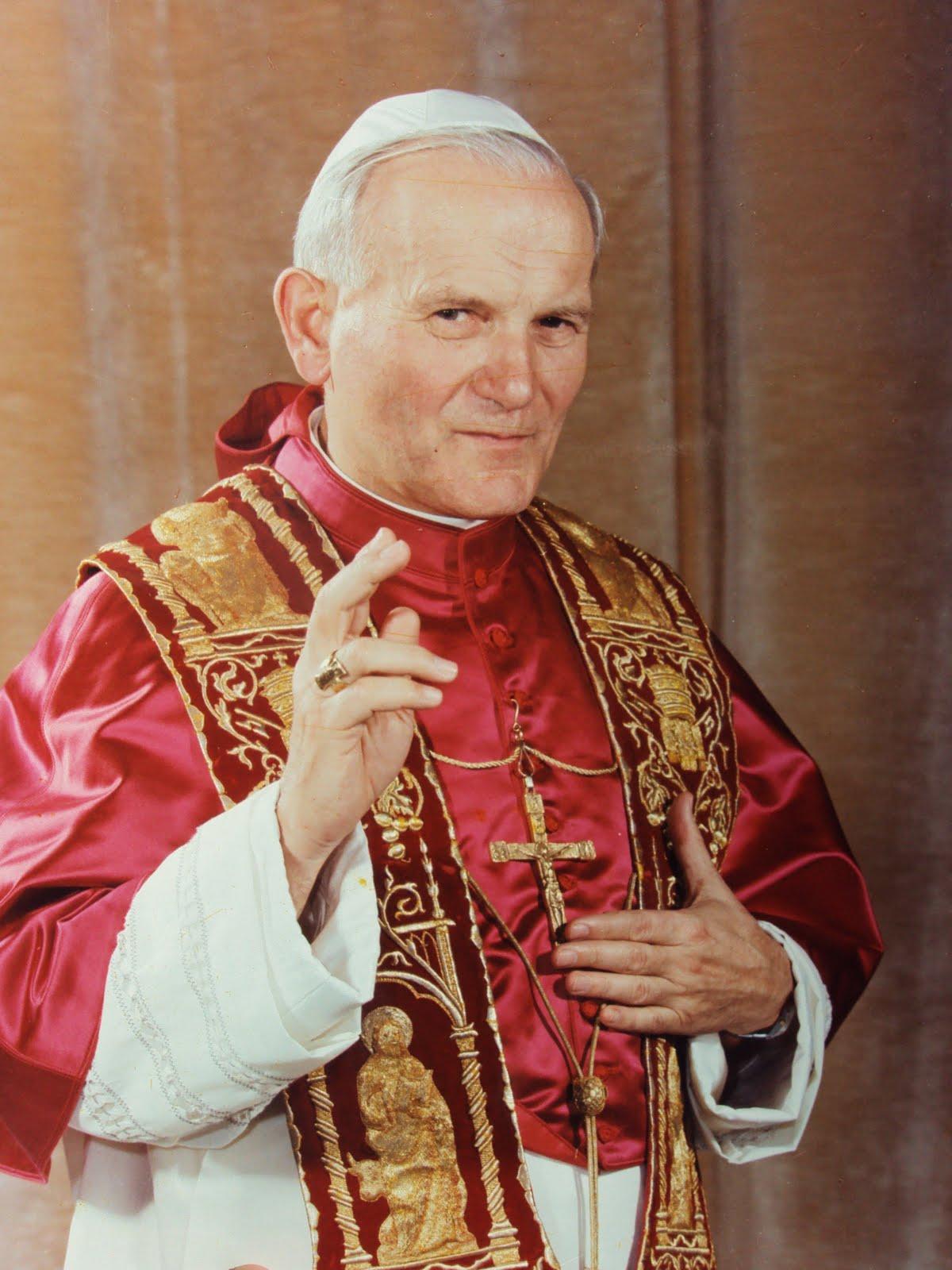 Znalezione obrazy dla zapytania św. Jan paweł II